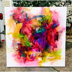 Brittany Lee color series abstract painting