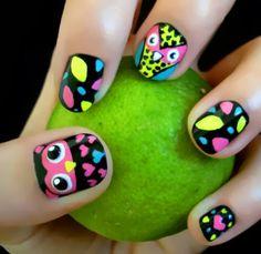 uñas para niña decoradas - Buscar con Google