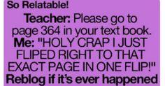 Hahahahahaha, this has happened before!