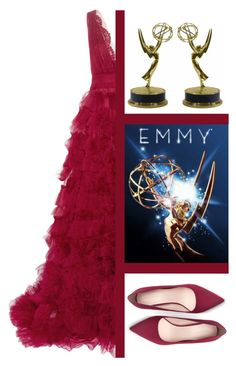 """Outfit #584 - Emmy"" by novemberdelane ❤ liked on Polyvore featuring Marchesa, Zara and vintage"