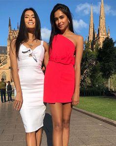 d7b0744e36 How gorgeous are our KOOKAÏettes in the Gigi Mini Dress  amp  Casanova  Dress  kookai