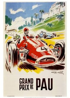 Grand Prix De Pau Reproduction d'art