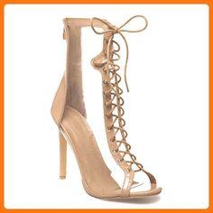 La Modeuse, Damen Stiefel & Stiefeletten , beige - beige - Größe: 39 EU (*Partner Link)
