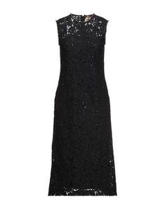 Women's Knee Length Dresses, N21, Black Midi Dress, Round Collar, Lace, Products, Fashion, Fantasy, Black Knees