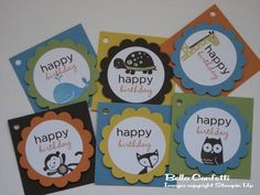 love these birthday tags!