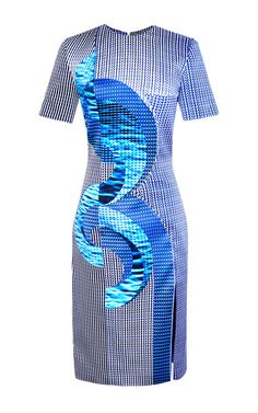 Axis Dress With Split by DION LEE for Preorder on Moda Operandi