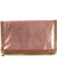 Stella McCartney 'Falabella' Fold Over Clutch $1088