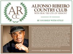Alfonso Ribeiro Country Club #bowtie #bowties