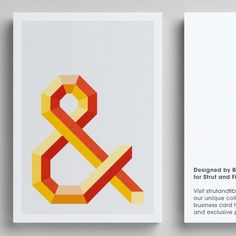 Postcard template designed by Bread Collective for Strut and Fibre's Ambassador Collection.