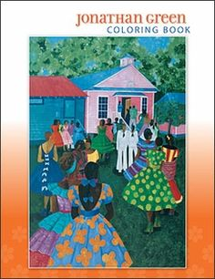 Jonathan Green Coloring Book