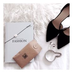 fashion book shoes zara heels cut out hand and hand bracelet silver rings white flatlay
