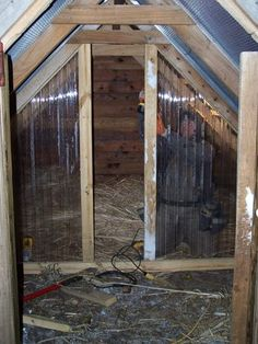 like the clear wall to keep light coming in to a chicken coop or animal shelter &  it will keep drafts down....