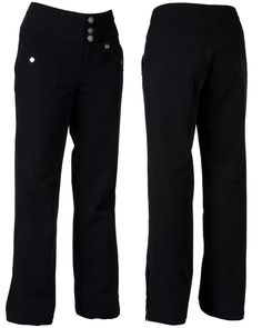 NILS Janea ski/snow pant. Relaxed fit, mid-rise and a waterproof breathable 4-way stretch fabric in fun colors!