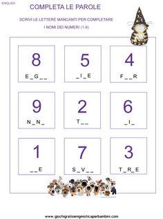 Risultati immagini per numeri in inglese verifiche