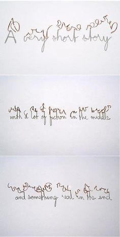 Fred Eerdekens - shadow typografie