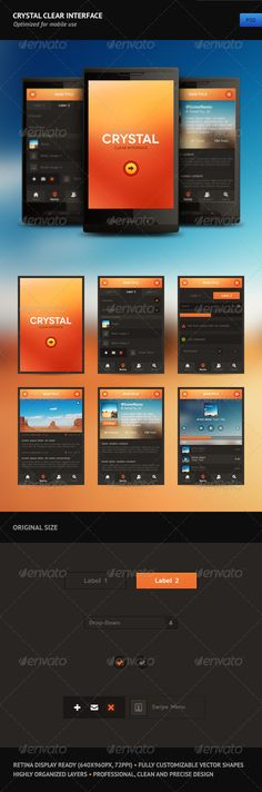 Crystal Clear Interface