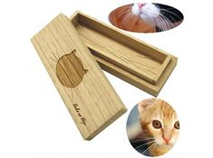 Be Glad cat beard case Cat Whiskers Case Wooden box for storing pet hair Cat Whiskers, Cat Paws, Kitty Cats, Online Pet Supplies, Cat Supplies, Cat Beard, Fancy Cats, Puppy Care, Gatos