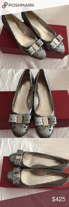 Salvatore Ferragamo VARA LASER MOON CALF SHOES BRAND NEW SALVATORE  FERRAGAMO WOMENS SHOES Salvatore Ferragamo Shoes Flats   Loafers 4e8810bcde