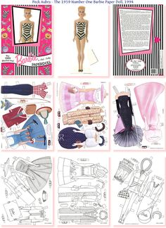 Barbie - These Barbie's Clothes Might Fit Mini Barbie For Your Barbie #P-2/2