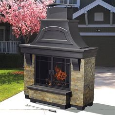 425 best fireplaces wood stoves u003e outdoor fireplaces images in rh pinterest com