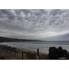    Cool cloud formation on a drizzly day in Apollo Bay Victoria. This makes me want to float in the clouds    . #Photography #Canon600D #Nature #Photo #NoFilter #EditFree #ApolloBay #Victoria #Australia #Beach #Clouds #Rain #Sea #Grey #Sky #JacquiKPhotography #FromInsideTheLens .  Don't forget to follow me for more posts like this and tag your photos with #JacPhotoFeature to be featured!  by from.inside.the.lens http://ift.tt/1LQi8GE