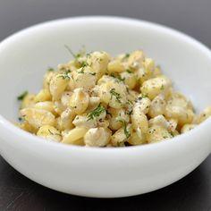 """""""Que tal esta saludable opción para hoy? Choclo al grill bañado en dip Tziki #simple #healthy #delicious #mediterranean #dip #gourmet #food #foodporn…"""""""