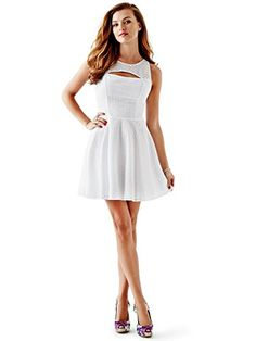 Guess Sleeveless Eyelet Dress White 8 GUESS https://www.amazon.com/dp/B00WU1PXKO/ref=cm_sw_r_pi_dp_7wxFxbJ6T38VK