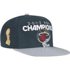 33a6cec4075fc NEW  NBA Miami Heat Official 2012 NBA Champions Adjustable Hat