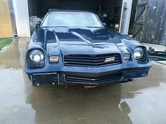 1980 Camaro Z28 Rolling Chassis