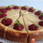 Klasický cheesecake - NajRecept.sk Cheesecake Cupcakes, Cheesecake Brownies, Cheesecake Recipes, Czech Desserts, Cake Recept, Czech Recipes, 20 Min, Sweet Cakes, Cheesecakes