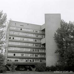 Das Hansaviertel, Pilgerstätte für viele Architekturstudenten (Architekt: Hans Niemeyer) #hansaviertel #berlin #70er
