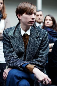 On the Street…..At Louis Vuitton, Paris « The Sartorialist