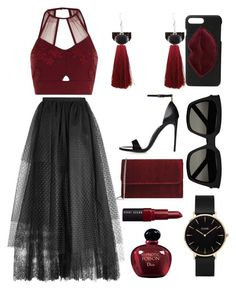 """""""Lola Dangles"""" by lionaleedesigns on Polyvore featuring Elie Saab, Kendall + Kylie, Bobbi Brown Cosmetics, Christian Dior, George J. Love, Yves Saint Laurent, CLUSE and River Island"""