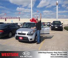 Westside Kia would like to wish a Happy Birthday to Robert Jones!