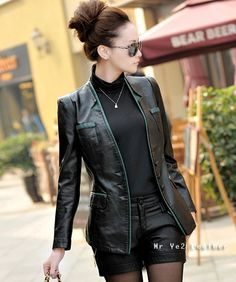 Blazer Kulit Wanita B-066