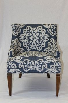 Reupholster an old chair.