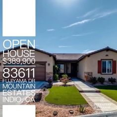 Open House Alert: Stop by for Bagels & Brew and neighborhood Garage Sales!   Saturday 8 am to 12 pm  Hosted by @greerzee and @jjsiquot   Pristine 4 BD / 3BD in Mountain Estate is a must see   83611 Fujiyama Dr   2,353 SQ FT   Offered at $389,900 #bagels&brew #dreamhome #realestate #realtor #buyer #international #california #pasadena #losangeles #longbeach #RV #sandiego #desertlife #GoodToKnow #bershirehathawayhomeservices #i❤️myjob #thingsthatmakemehappier #localrealtors - posted by J.J…