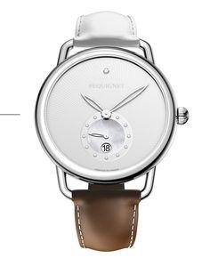 Pequignet celebrates its anniversary, 40 years of history... PEQUIGNET Equus range women Limited Edition watch