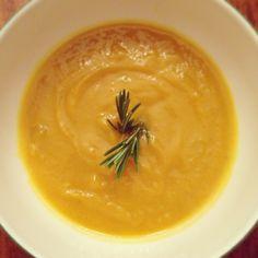 Rosemary Butternut Squash Soup