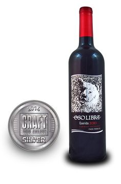 Craft Wine Awards 2014 | Oso Libre Querida Cabernet Sauvignon 2010