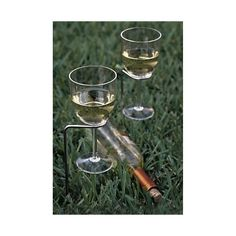 Steady Stick Wine Glass Holders in Beach, Picnic