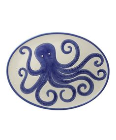 Look what I found on #zulily! Large Octopus Platter by Grasslands Road #zulilyfinds