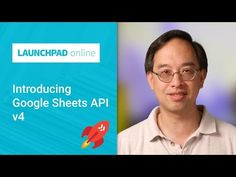Launchpad Online: Introducing the Google Sheets API v4 - YouTube Google, Youtube, Youtubers, Youtube Movies