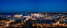 Old City Harbour of Tallinn by dzorma. @go4fotos