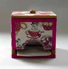 Porta Chá Pequeno - Comprar em Pietro Artesanatos