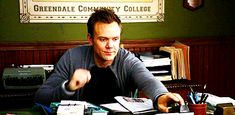 The Definitive Collection Of Joel McHale Gifs