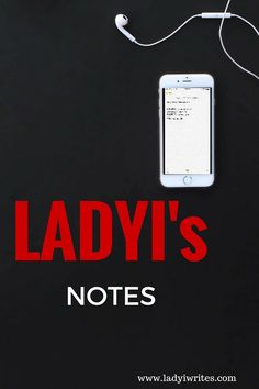 ladyi's notes