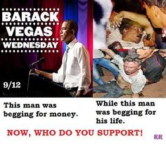 9/11/12 Benghazi murders, 9/12 Barry parties in Vegas