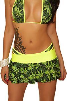 Amazon.com: SassyAssy Women's Marijuana Print Romper: Clothing