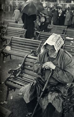 Narrative Spark: Eduard, abandoned and now homeless, tried to work out how they had arrived at this decision. All he had intended was a gentle conversation about that ticket. (Photo by Henri Cartier-Bresson)